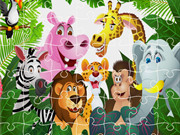 King Of Jungle Jigsaw