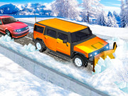 Snow Plow Jeep Driving